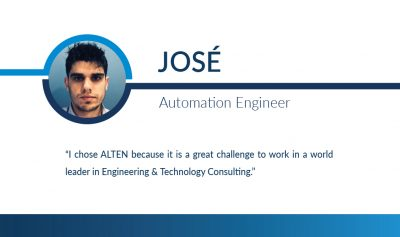 Humans of ALTEN: José
