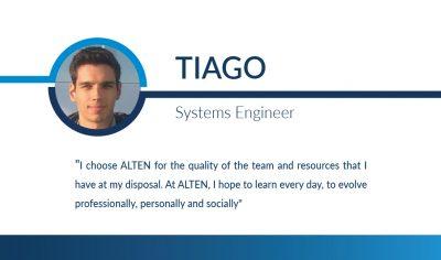 Humans of ALTEN: Tiago