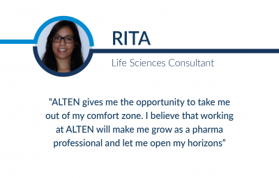 Humans of ALTEN: Rita
