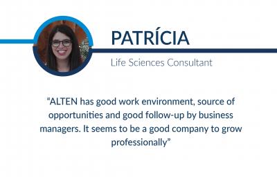 Humans of ALTEN: Patrícia
