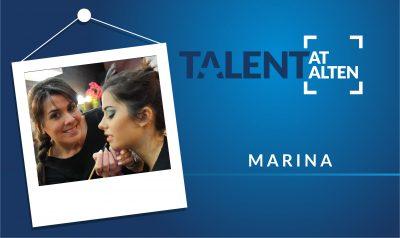 """Marina: """"Make-up is a way to express"""""""