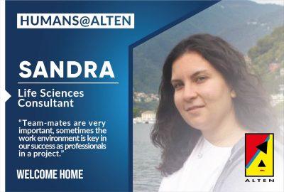 Humans of ALTEN: Sandra